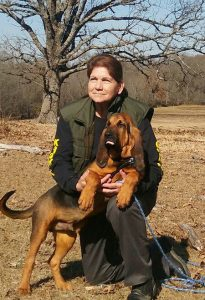 Jackie Buccafurno and Justice: Master K9 Instructor and handler, former Senior Lieutenant Deputy Sheriff and K9 handler. Founder of Twin Pines Training Academy for K9s and Search 4 K9 Rescue Team.